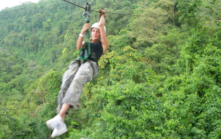 #82  Take a canopy (zip line) ride