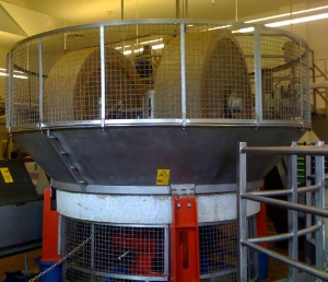 Olive Crusher at Olive Oil Factory
