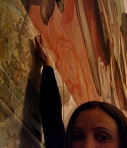 Fresco at Florence Duomo
