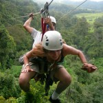 Zipline Though the Costa Rican Rain Forest
