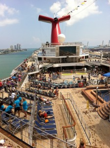 Carnival Glory Cruise Deck