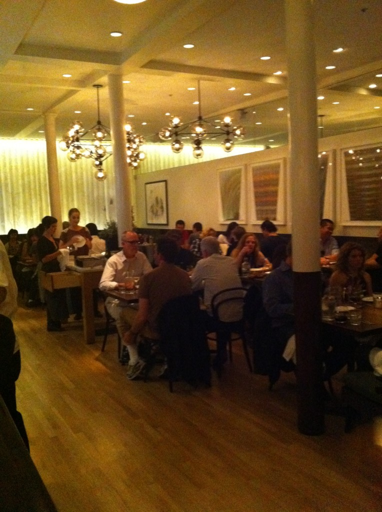 laconda restaurant dining room