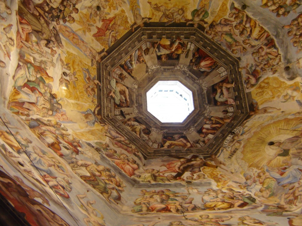 ceiling at the Florence Duomo