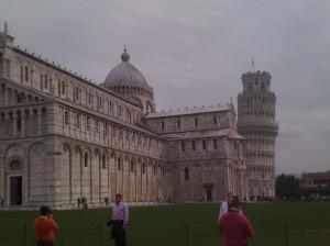Pisa behind the Duomo