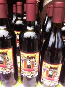 haggling for wine at la bufadora market