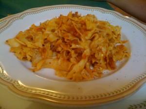 A simple Italian pasta
