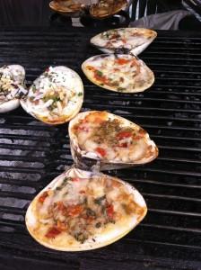 clam back street food