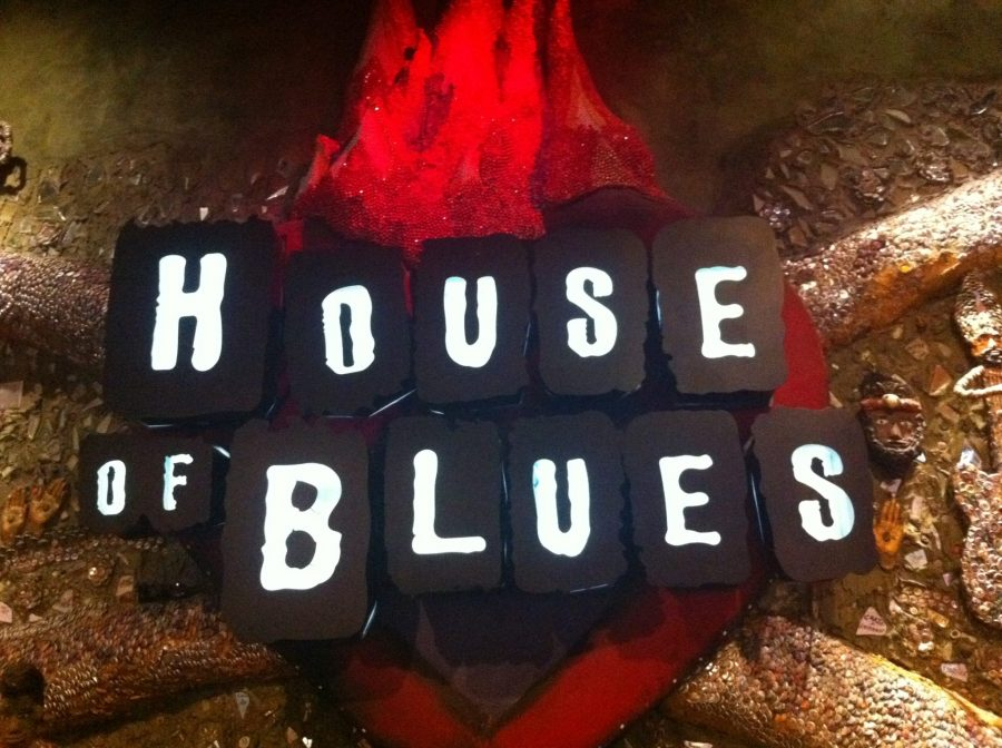 Winning at the house of blues in las vegas for Housse of blues