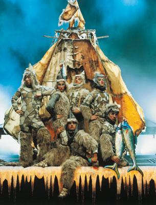 Mountain Tribe Cirque du Soleil Ka