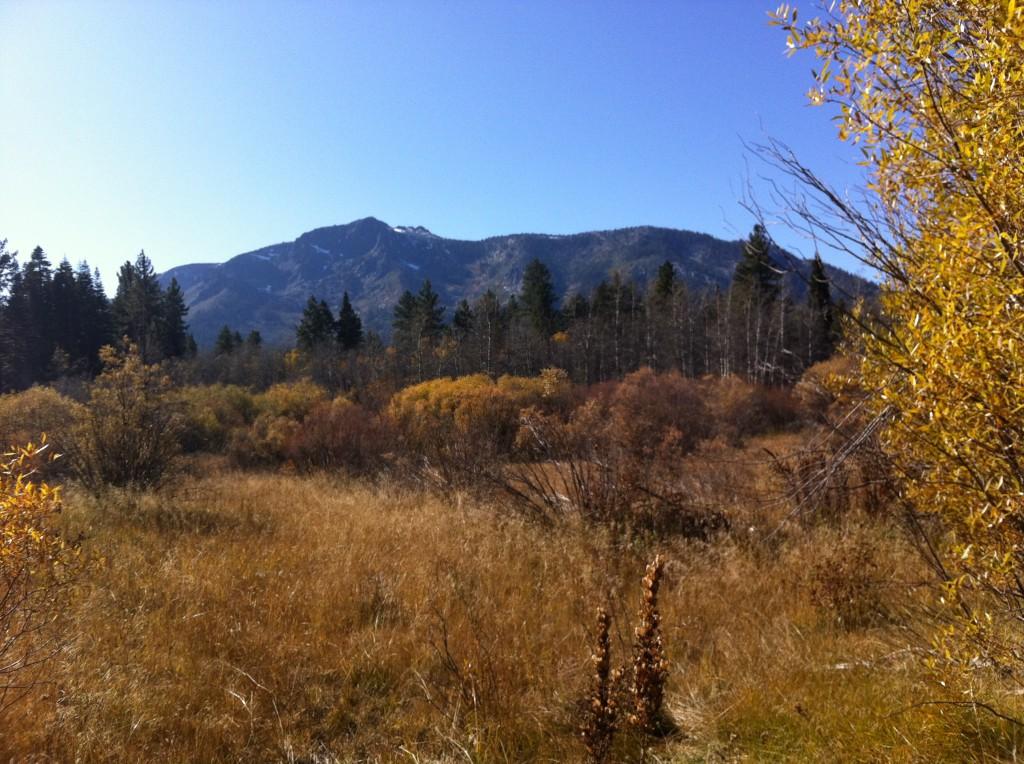 Mt. Tallac in Lake Tahoe
