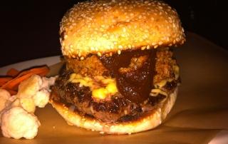 Burger at Esquire Tavern