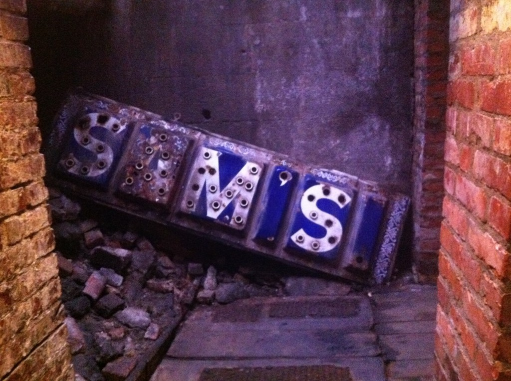 Seattle Underground Sign