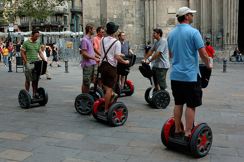 Segway Tour on Barcelona Itinerary