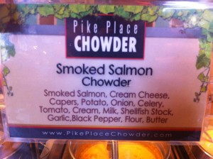 Smoke Salmon Chowder