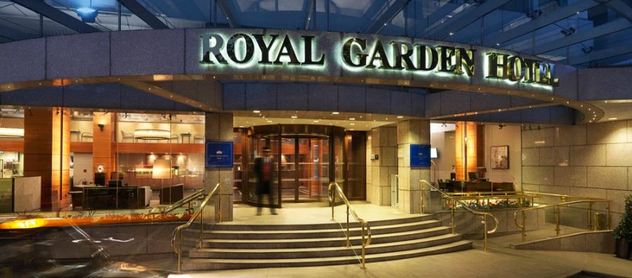 Royal Garden Hotel in London