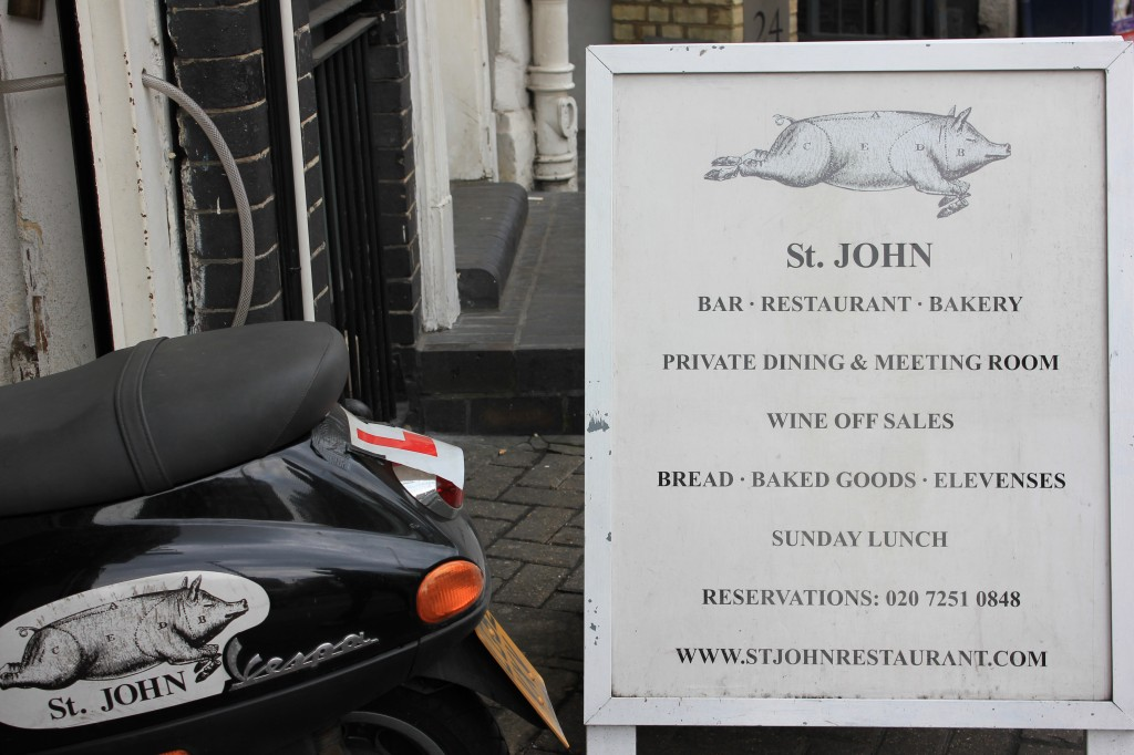 St. John Restaurant in London