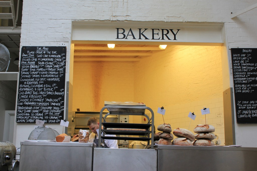Bakery at St. John Restaurant in London