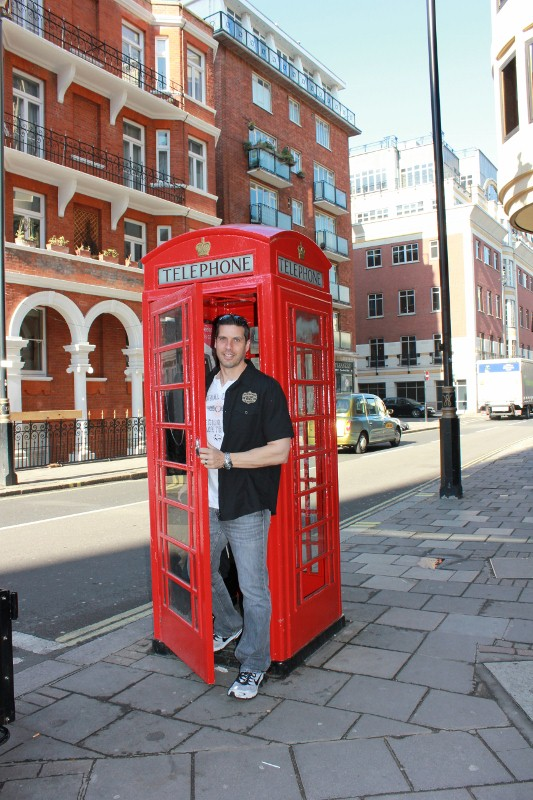 Londons Red PHone Booth