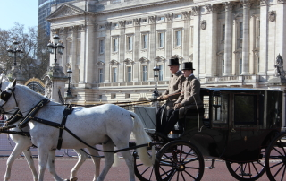 Horse and Carriage at Buckingham Palace