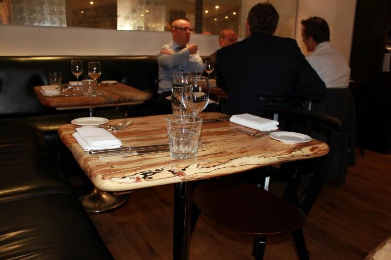 Tables at Arbutus London