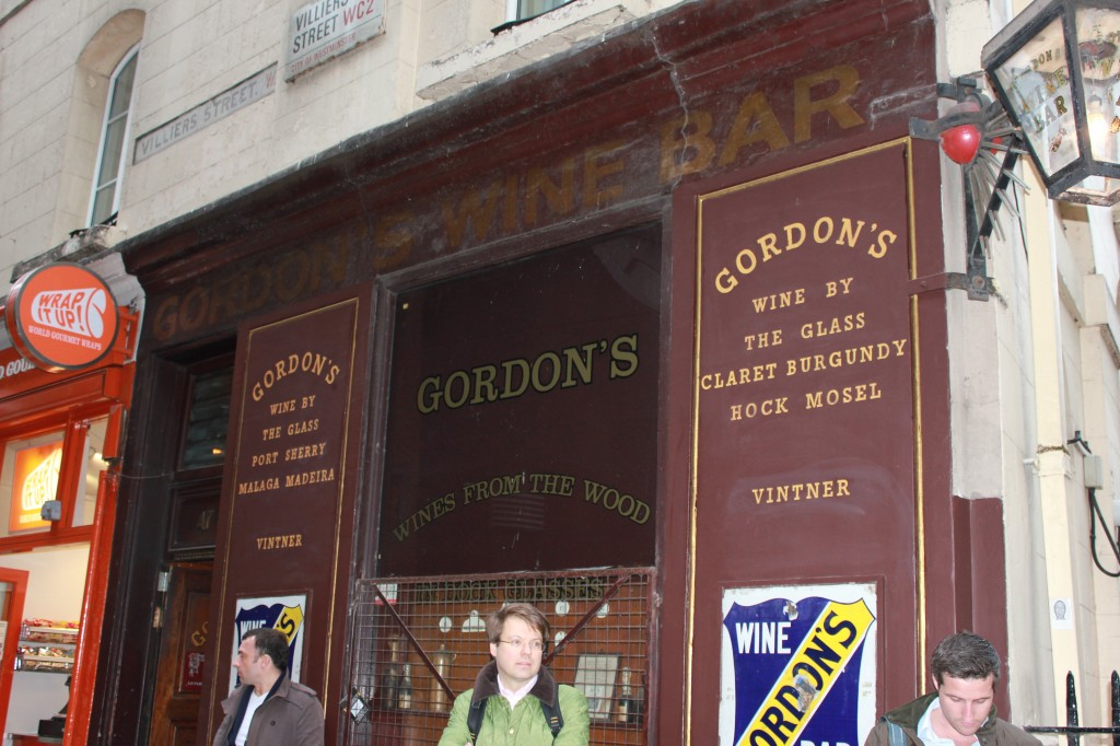 Gordon's Wine Bar in London