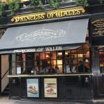 Drink Pints & Eat English Mushy Peas at the Princess of Wales Pub
