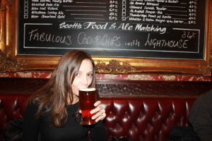 My first Pint in London | Annette White