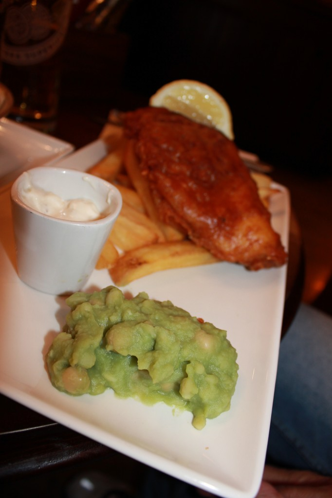 English Mushy Peas in London