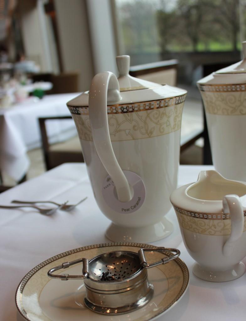 Tea Pot at Afternoon Tea in London