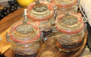 Salame al Tartufo at Harrods Food Hall in London