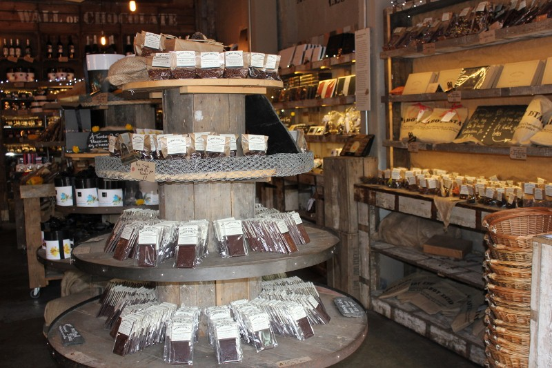 Chocolate at London's Borough Market