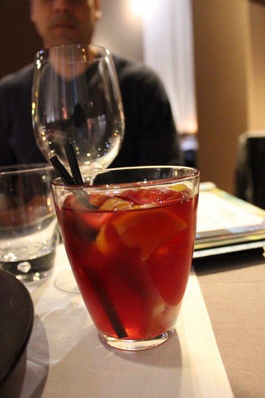 Sangria at Brown 33 in Barcelona
