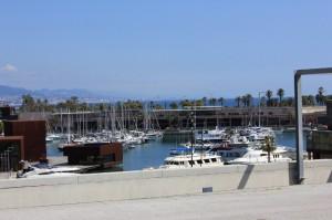 Parc del Forum Boats