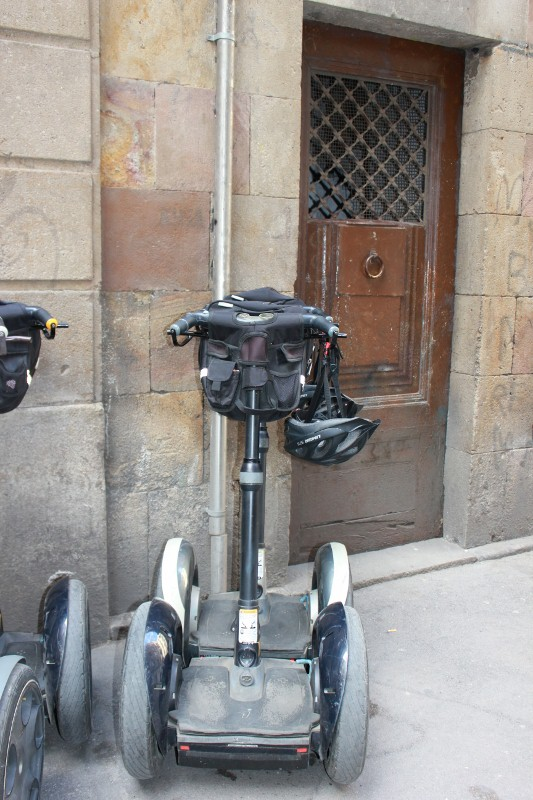 Segways in Barcelona