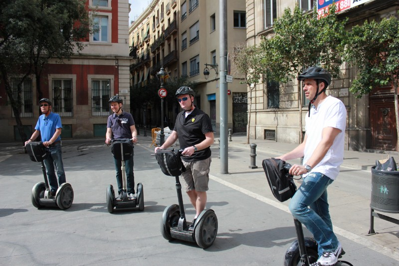 Segway Lessons in Barcelona