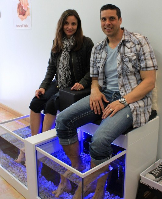 Fish Pedicures | Annette White