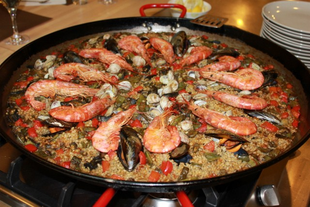 Finished Paella