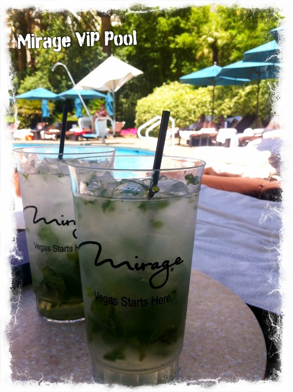 Mojitos at the Mirage