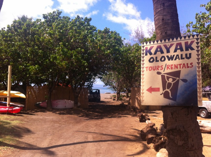 Kayak Olowalu