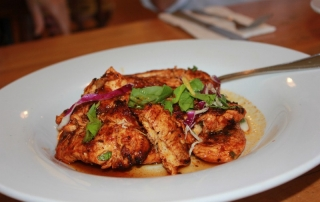 Blackened Chicken at Punjabi