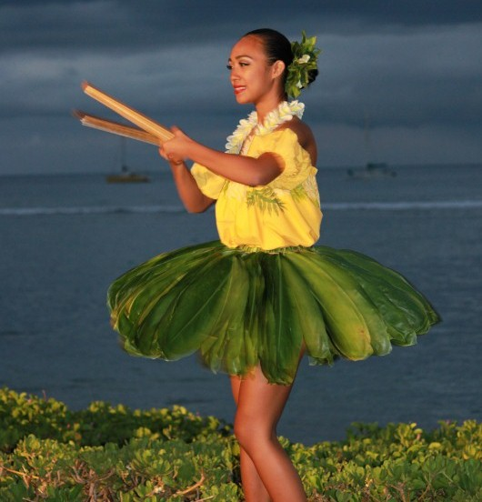 Dancer at the Luau