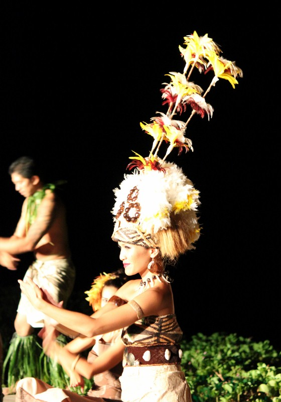 Samoan Dance at the Luau