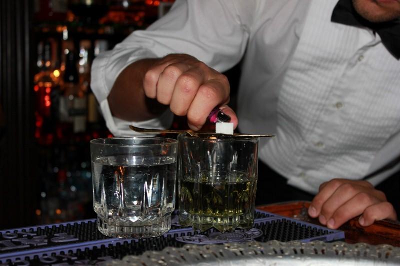 Bucket List - Drinking Absinthe at a Speakeasy