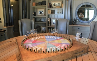 Aroma Wheel Wine Tasting in Napa Valley