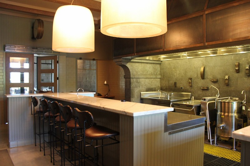 Commercial Kitchen at Trinchero