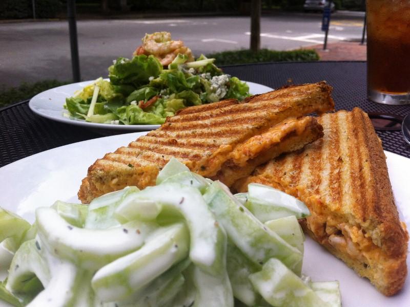 Pimento Cheese Sandwich in Savannah
