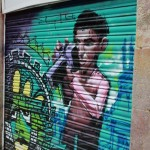 A Silent Photographic View of Barcelona Street Art