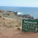 Heed the Warning at the Nakalele Blowhole in Maui