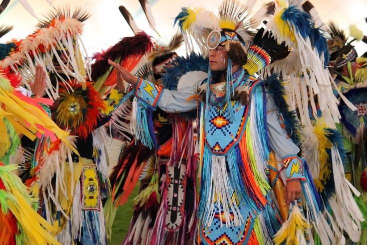 Native American Pow Wow Dance