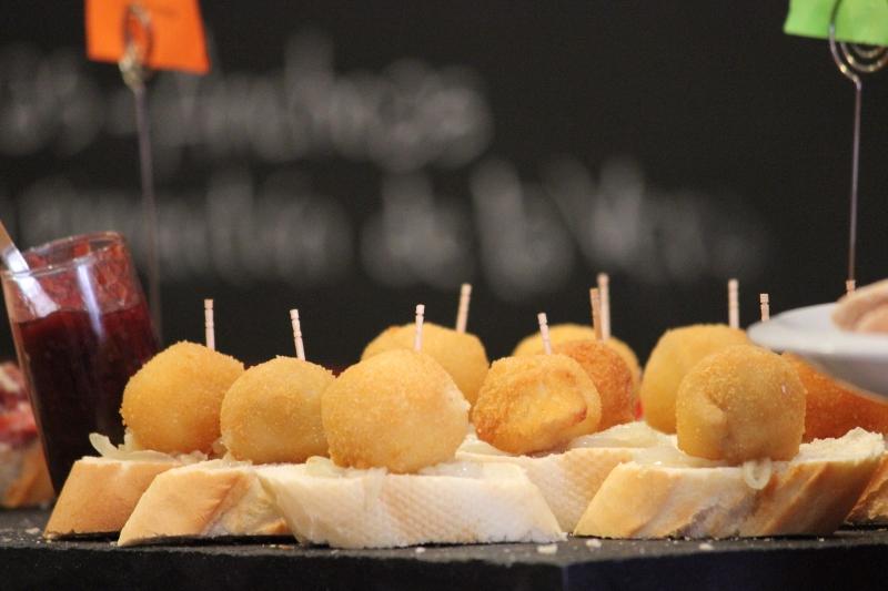 Potato Croquette Pintxos